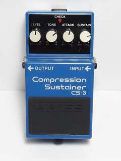BOSS Compression Sustainer CS-3 Guitar Pedal