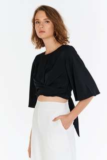 TCL Danisa Sash Top in Black
