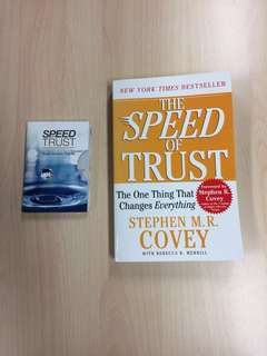 Speed of Trust By Stephen M. R Convey
