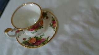 expensive cup and saucer from italy