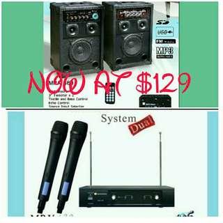 Martin Roland karaoke system Package 10