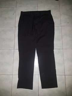 Zara man chino black original