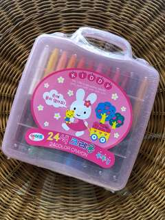 Kiddy 24 Crayon