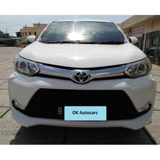 Toyota AVanza New Veloz Tahun 2015 At Putih Metalik AT cc 1500 Pajak Panjang