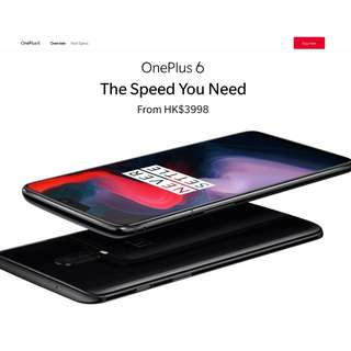 OnePlus 6 Referral Link Get HK$150 Discount For Purchase OnePlus 6 Accessories