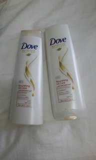 Dove Shampoo & Conditioner set