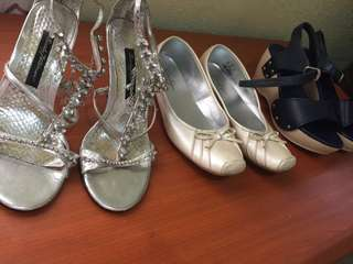 Bundle: 3 pairs of shoes