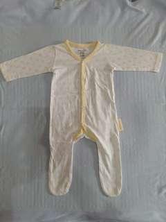 Boogy Baby Sleepsuits Kaki Tertutup (isi 3)