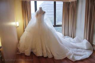 Wedding Gown open for bidding