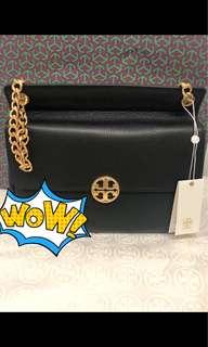 New arrival💁♀️💁♀️ Tory Burch chelsea flat shoulder bag 26.5x23cm