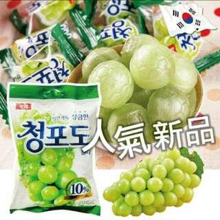 🚚 🎊保證現貨🎊  😍7%加量😍  韓國  LOTTE  青葡萄糖