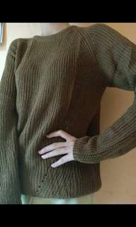 sweater Knit brown