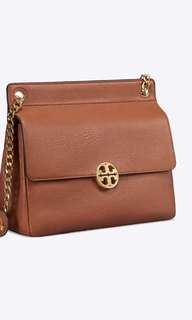 New arrival💁♀️💁♀️ Tory Burch chelsea flat shoulder bag 26.5x23cm