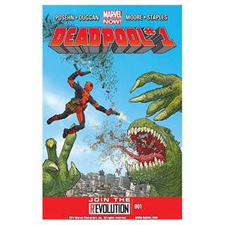 Deadpool #1 (Third Series, First Printing)