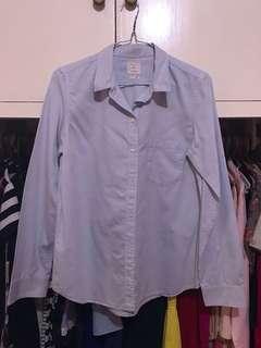 GAP boyfriend blouse