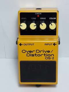 BOSS Overdrive/Distortion OS-2 Guitar Pedal