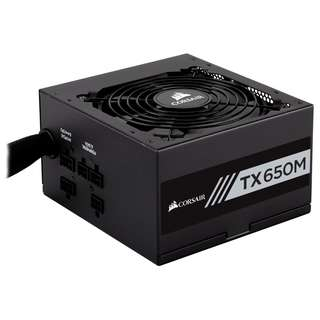 Corsair TX650M Semi-Modular 80+ Gold 650W Power Supply - SKU: CP-9020132-AU
