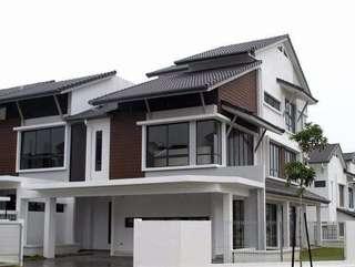 New Double storey terrace house 0 downpayment