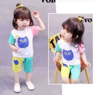 Kids Terno Top and Shorts - COD