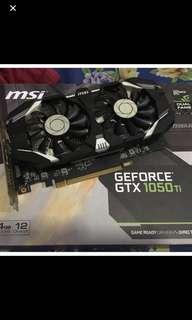 Msi gtx1050 ti 4gb DUAL FAN