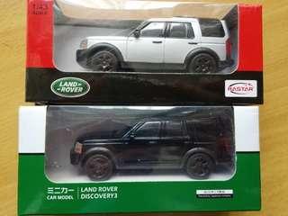 Rastar Land Rover Discovery 3 兩架