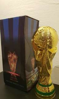 New World Cup Trophy Replica for Sale! 2 left!