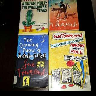 4 Adrian Mole Wilderness Years. True Confessions Of Adrian Robert Mole Margaret Hilda Roberts And Susan Lilian Townsend Growing Pains  # English Novels The wilderness years Bestselling Famous Bestseller Smu Ntu Nus Jc Secondary Literature )