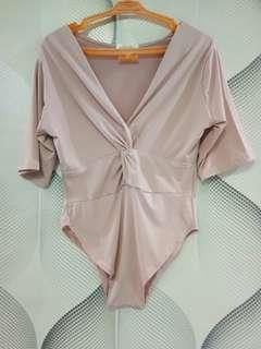 Top swimsuit dusty pink