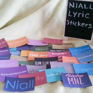 Niall Horan Stickers