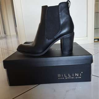 Billini Black Heeled Boots