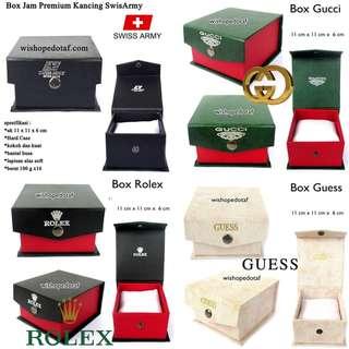 Grosir Box / Hard Case Premium Kancing Jam