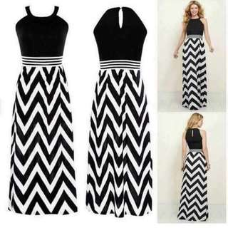 #006🌺us zigzag dress
