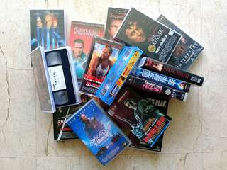 Action Thriller Movies VHS Video Tapes