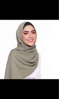Maya shawl with inner