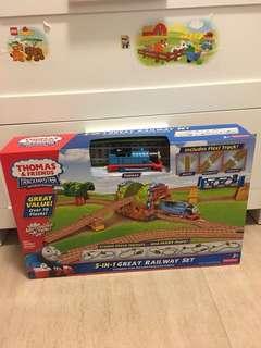 全新Thomas & Friends Trackmaster 5 in 1