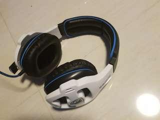Sades:surround sound headset