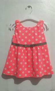 baby polka dot dress
