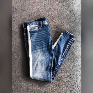 Mnml Side Stripe Denim Size- 32