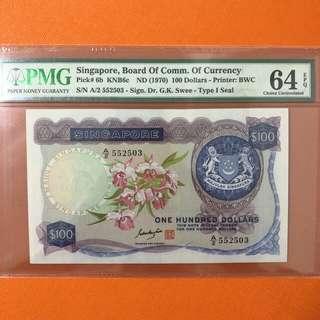 Orchid $100 GKS 64 EPQ