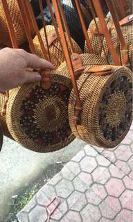 Rattan Bag 101% original from Bali FREE SHIPPING FEE