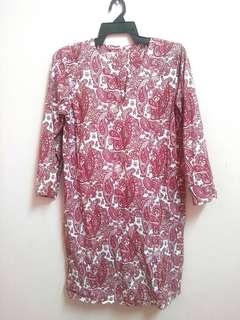Kurung Cotton Moden