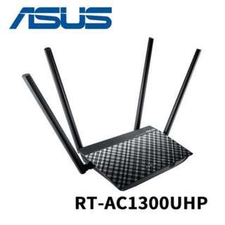ASUS RT-AC1300UHP Dual-Band 2.4GHz & 5GHz 1267Mbps Wireless AC Router RT AC1300UHP AC1300 ( 3 yrs Local Warranty )