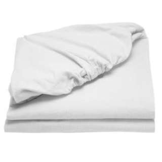 FREESF Semi double size white fitted sheet