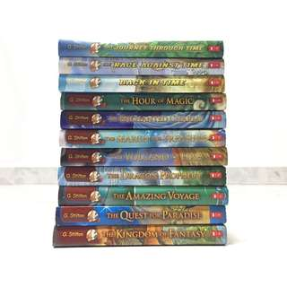 WTS: Geronimo Stilton and Thea Stilton Books