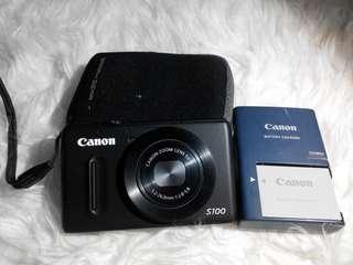 Canon powershoot S100
