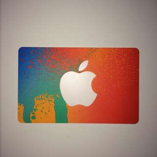 Apple iTunes $20 Giftcard Sealed