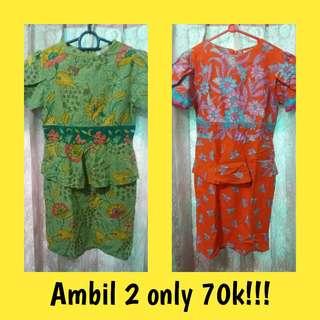 PROMO dress batik solo
