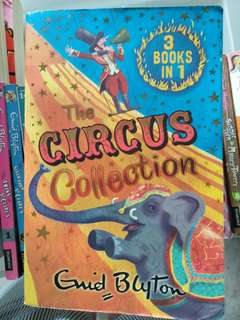 Enid blyton 3 in 1 circus collection