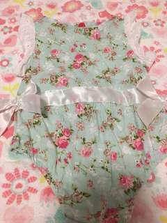 Floral onesie
