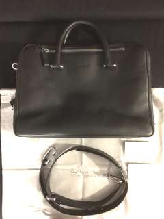 Calvin Klein Calf Leather Briefcase
